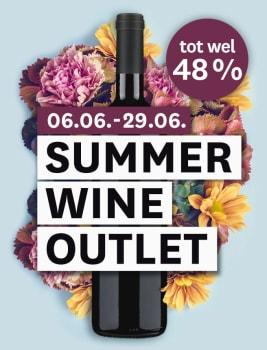 Kortingen tijdens onze Summer Wine Outlet