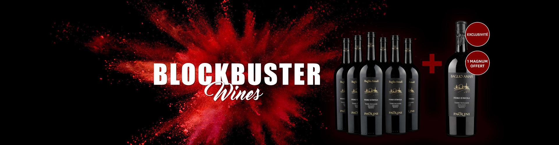 Nos vins puissants et épicés blockbuster XXL
