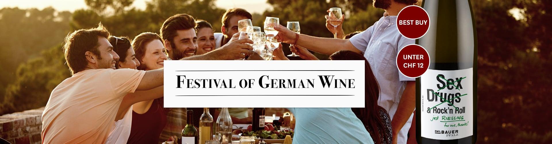 Festival des deutschen Weins