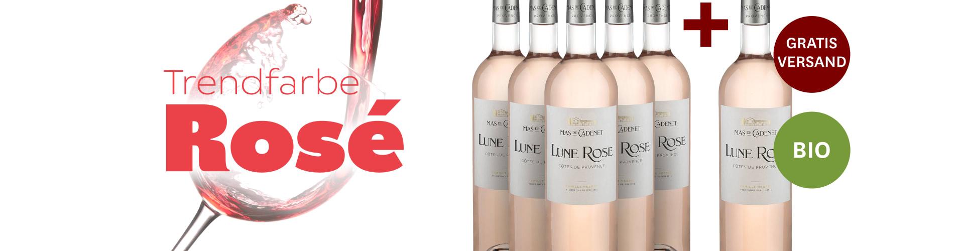 Rosé-Spezial mit neuem Jahrgang!
