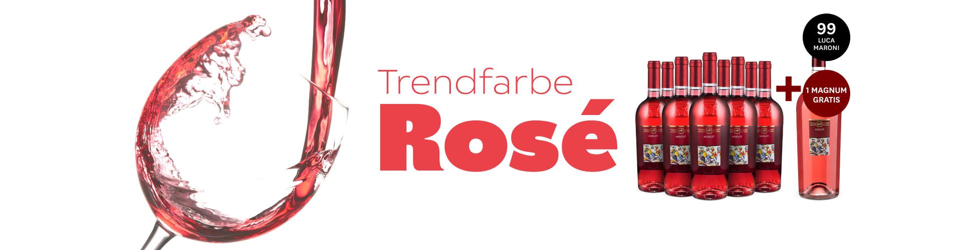 Rosé-Spezial mit frischen Weinen
