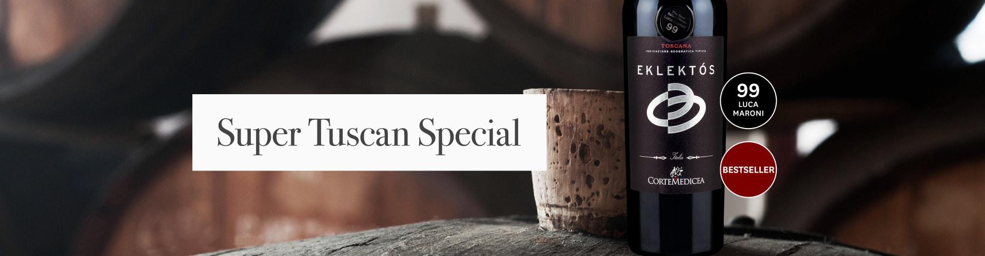 Onze huidige Super Tuscan voor een houten vat