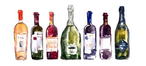 Laatste flessen