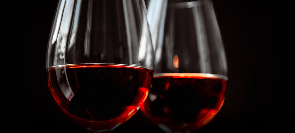 Rotwein aus China