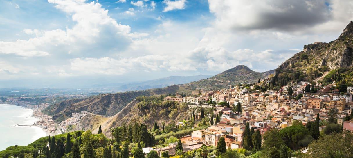 Wein aus Sicile, Italie