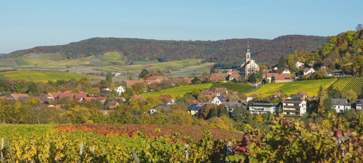 Wein aus Franconie, Allemagne