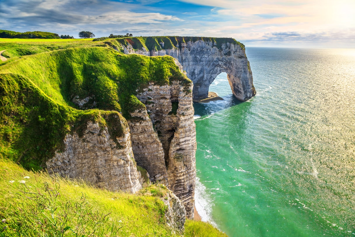 Wein aus Normandie, Frankreich