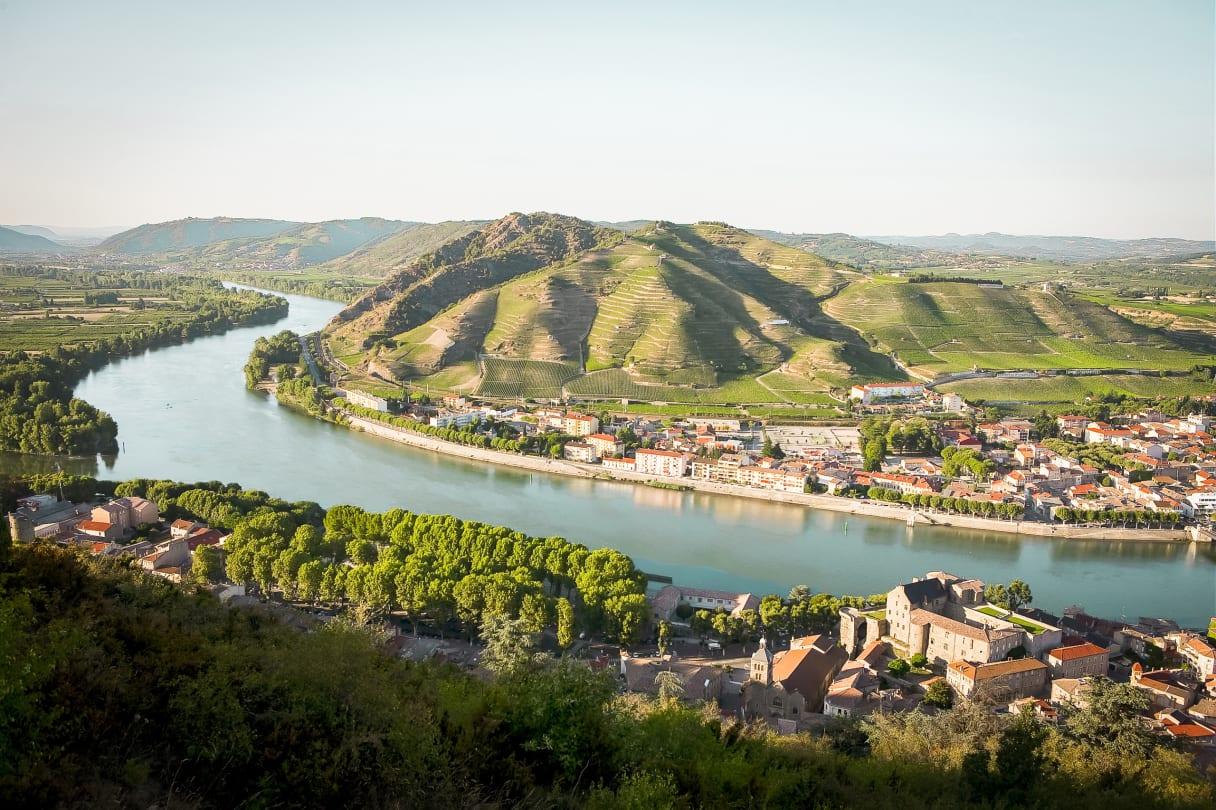 Wein aus Rhône, Frankreich