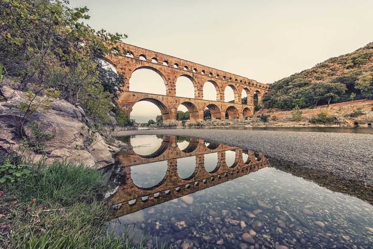 Wein aus Roussillon, Frankreich