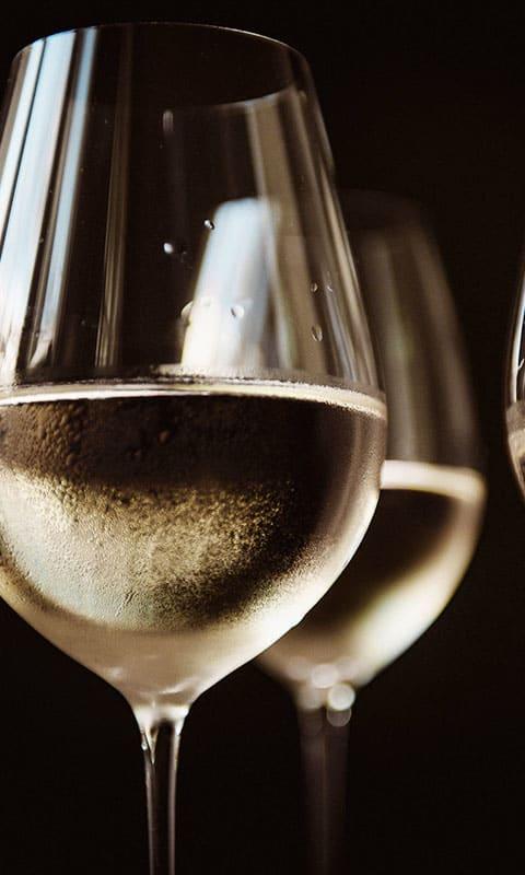 Weißwein, wein aus Italien