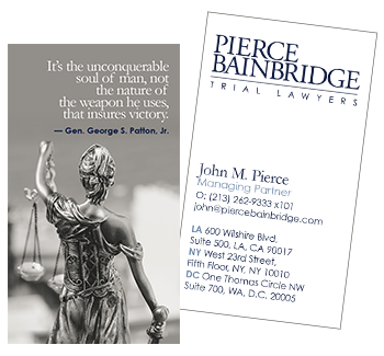 Pierce Bainbridge Branding
