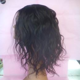 Custom hand sewn wig U part