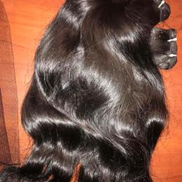 Raw organic hair