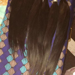 Virgin Brazilian Remy Straight Human Hair Bundles