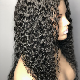 Curly Lace Closure Wig