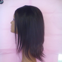 custom hand sewn u part wigs