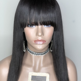 Bang Wrap Lace Closure Wig