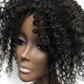 Human Hair Topper, Kinky Curly, High Quality, 100% Human Hair 14\