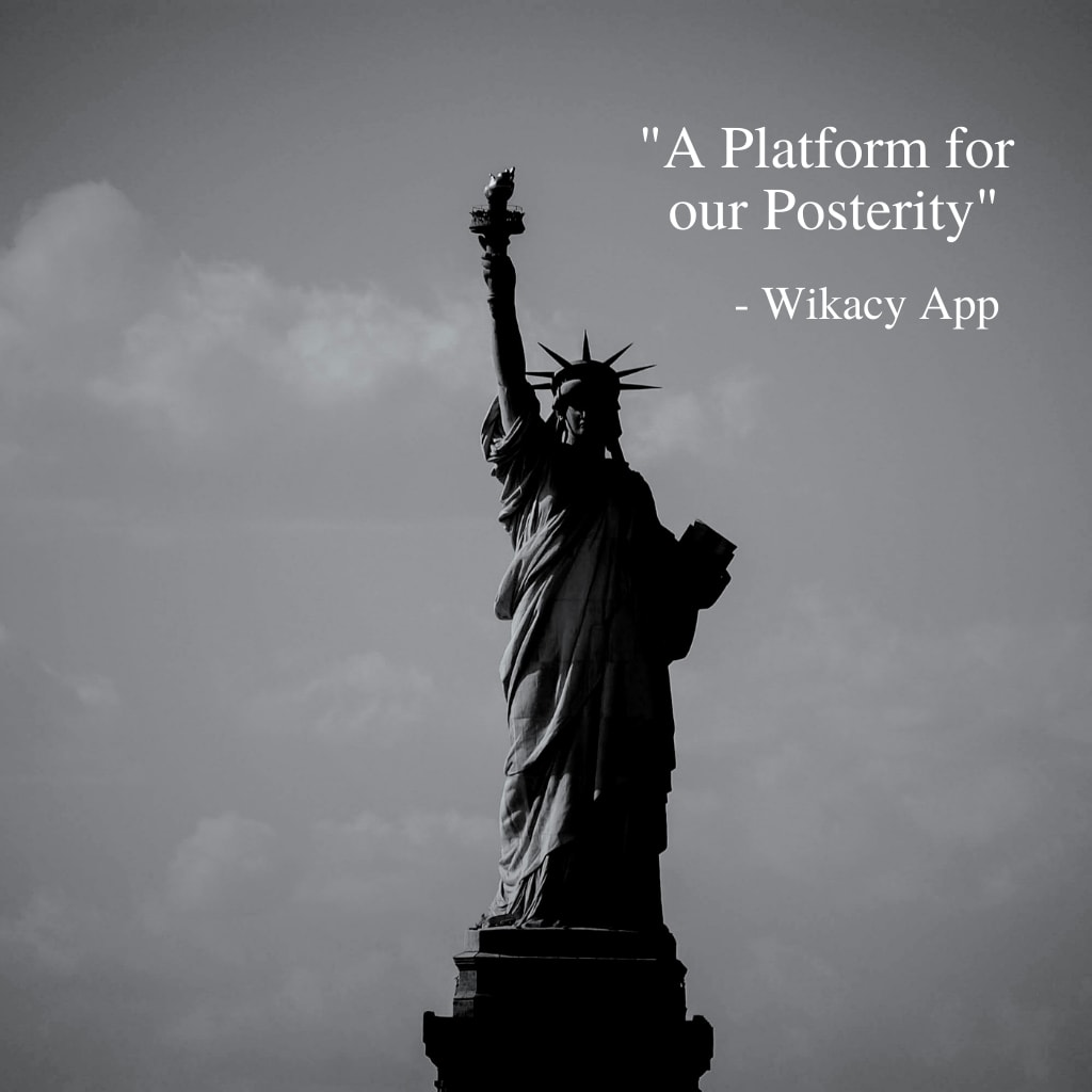 A Platform for Our Posterity