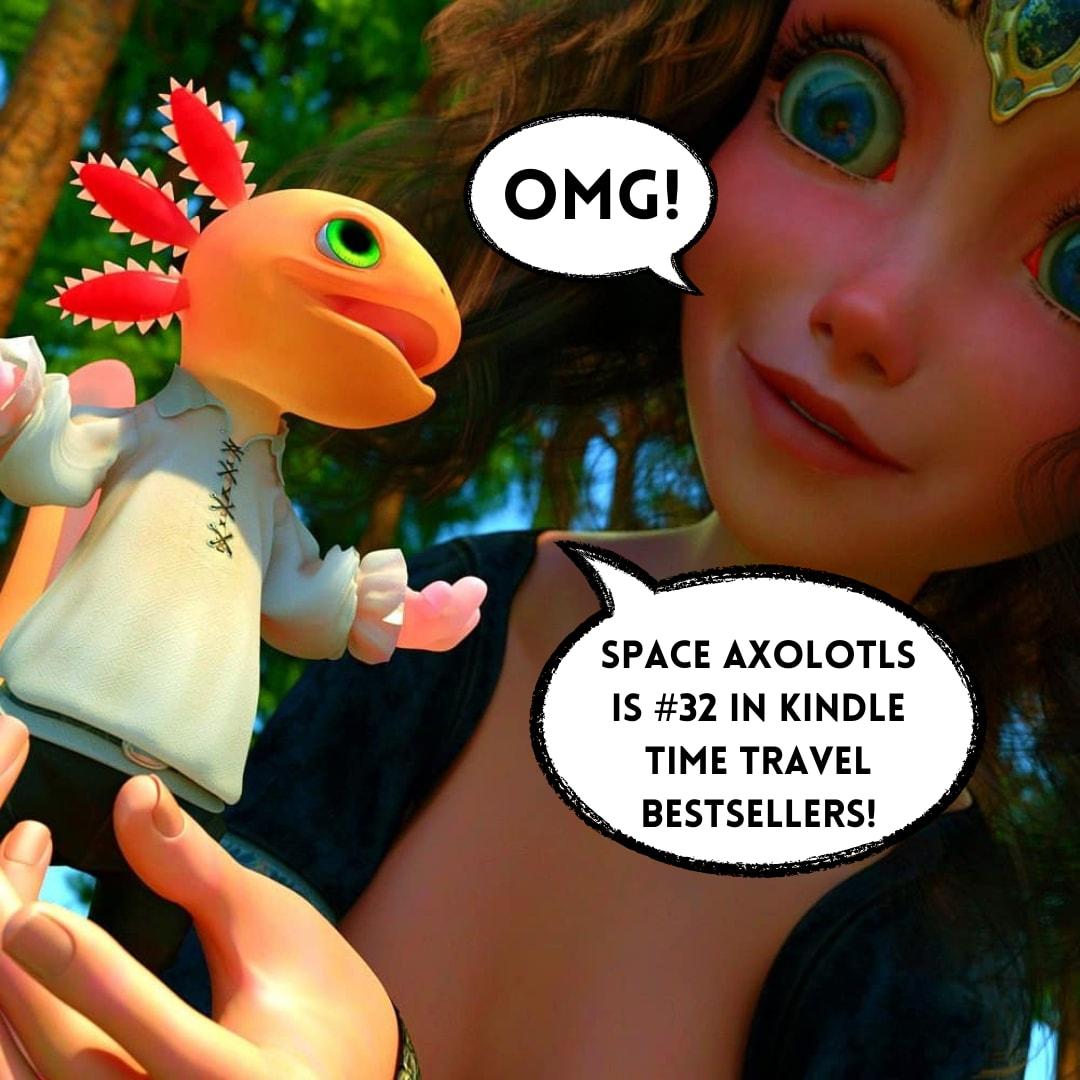 Space Axolotls Book
