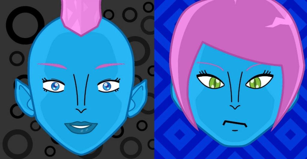 Illustrative media - custom avatars