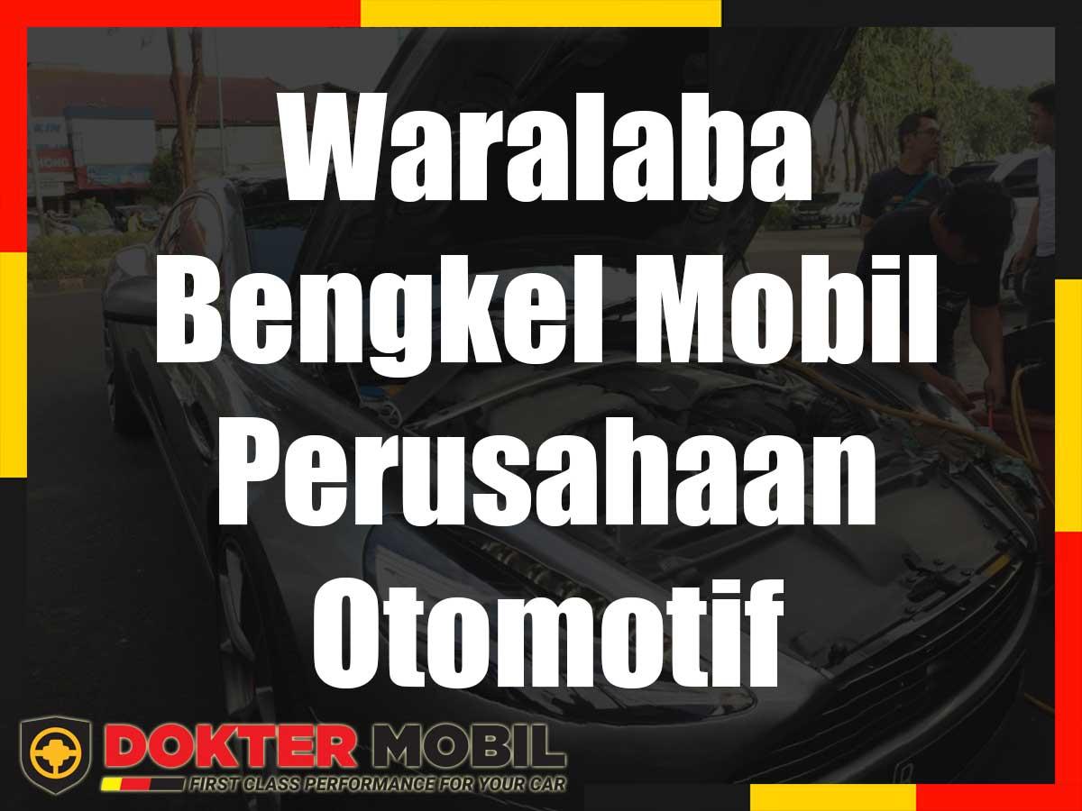 Waralaba Bengkel Mobil