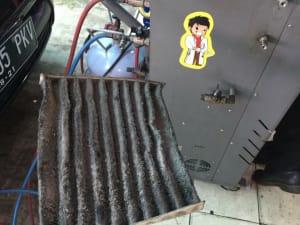 AC Mobil Panas dan Bau Asem yang mengakibatkan AC Mobil panas dan bau asem