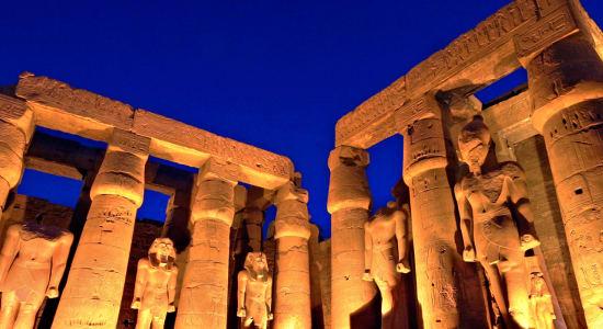 1 slide egypt luxor archeology pano