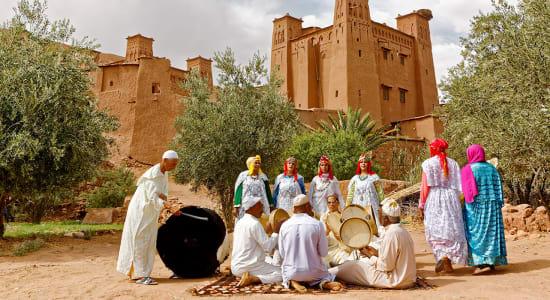 1 slide berber ait ben haddou morocco pano