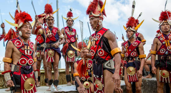 1 slide nagaland hornbill festival india traditional ceremony pano