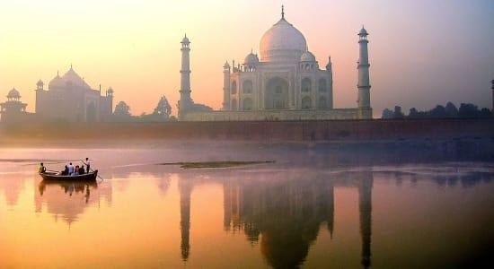 india rajasthan taj mahal