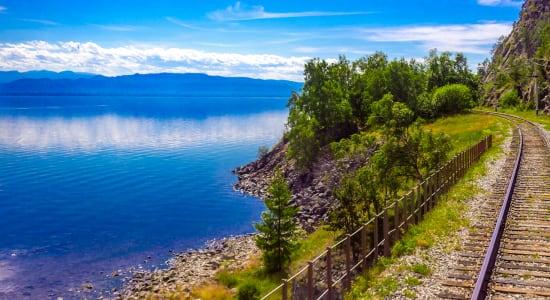 lake baikal train