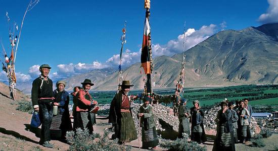 1 slide tibet guring la lhasa gary pano
