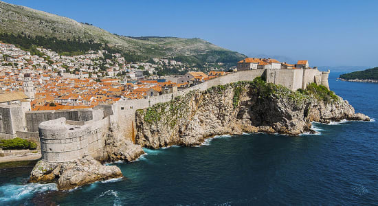 1 slide croatia dubrovnik coast pano
