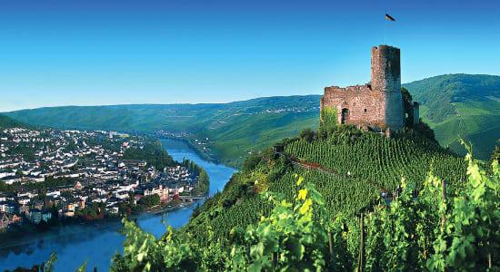 burg landshut castle rhine river