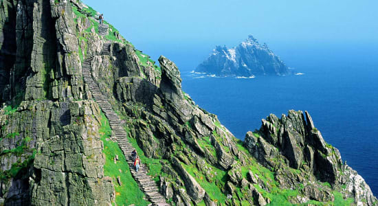 skellig michael island ireland