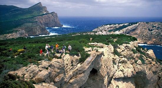 corsica rugged coastline trek