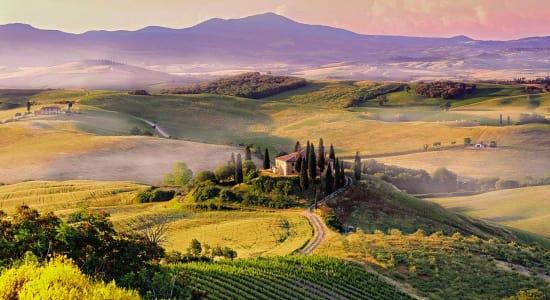 italy san quirico tuscany