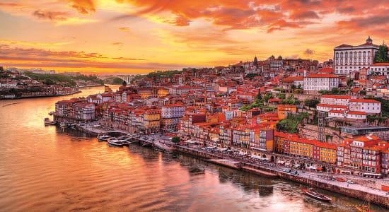 1 slide portugal douro river portols pano