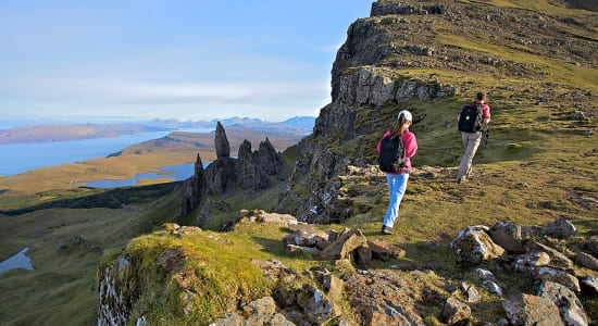 1 slide scotland isle of skye craggy highland pano