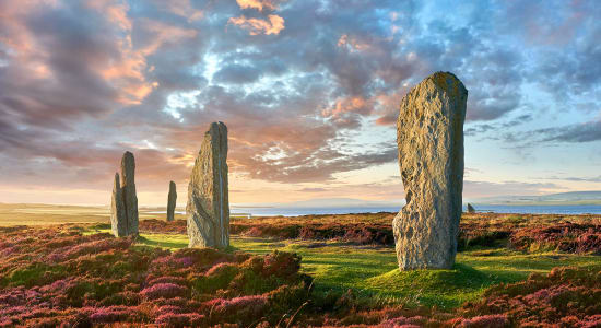 ring of brodgar neolithic stone orkney scotland