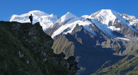 haute route swiss alps trek