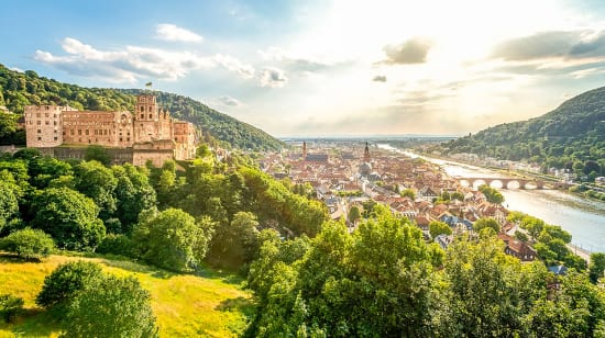 1 slide rhine river germany heidelberg view pano