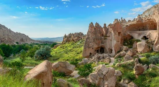 turkey cappadocia ruins