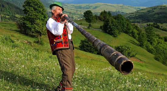 great carpathian traverse horn