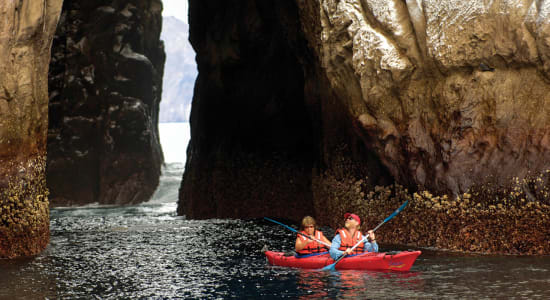 1 slide ultimate san cristobal island galapagos people kayaking pano
