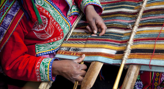 1 slide bolivia weaving textile pano