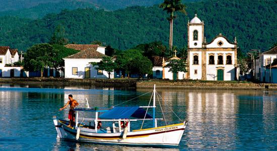 boats paraty brazil