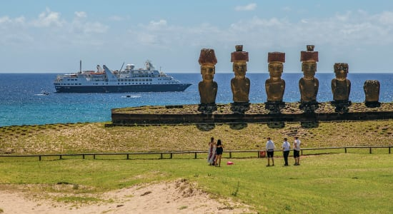 cruise silversea valparaiso to papeete easter island