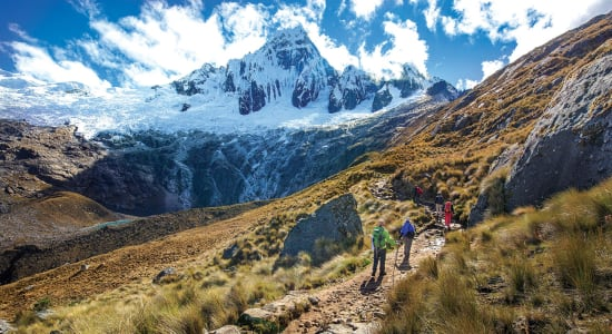 peru trek huayhuash people peak